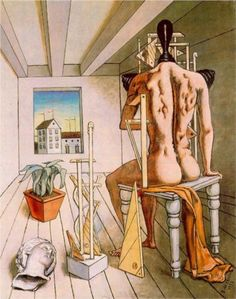 The muse of silence - Giorgio de Chirico