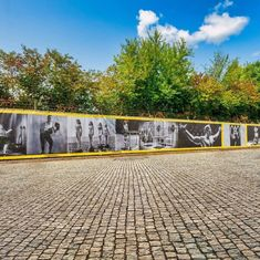 Maar liefst 31 meter doek aangebracht bij Malifestylclub ;-) #malifestylclub #Winddoek #meshdoek