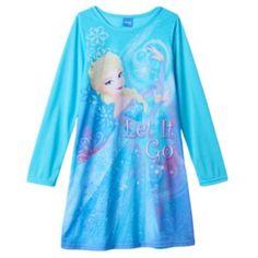 """Disney's Frozen """"Let It Go"""" Elsa Pajama Tee - Girls 4-10"""