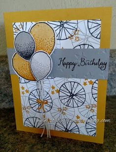 Stress-Free Stamping with Shana: The Stamp Review Crew: Balloon Celebration Edition