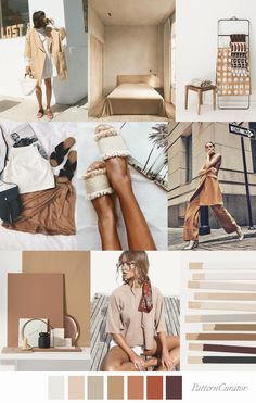 gorgeous off white, being, ecru hues in this natural color inspiration moodboard . Soft balancing tones with muted color pos for an accent here or there , featured by Pattern Curator Perfect Tan Moodboard Pattern Curator, Color Trends, Design Trends, Mood And Tone, Moda Boho, Colour Pallete, Colorful Fashion, Color Inspiration, Moodboard Inspiration