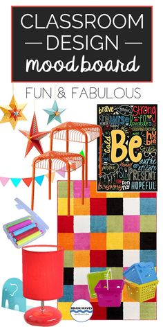 Looking for fun classroom design ideas? Well, check out this fun and fabulous classroom mood board! Classroom Setting, Classroom Design, School Classroom, Classroom Decor, Classroom Resources, All About Me Activities, Back To School Activities, Language Arts Worksheets, Board Decoration