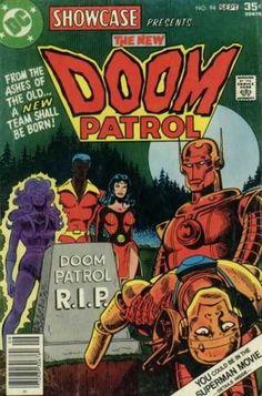 Dc - September - Full Moon - 35 Cents - Doom Patrol - Jim Aparo