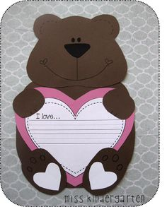 Miss Kindergarten: Valentine's Day Crafts... Absolutely adore these!