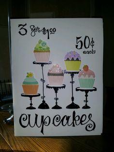 Plakatvorlage f r den kuchenbasar kostenlos zum for Kuchen ab werk verkauf