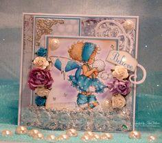 "Mo's Digital Pencil ""Winter Fairy Talva"" colored with copics"