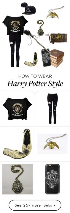 """""""harry potter"""" by aoreugifanabanana on Polyvore featuring Ceramiche Pugi, Casetify and Miss Selfridge"""