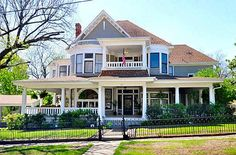 Beautiful Victorian home in Texas