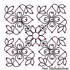 Learn how to make simple rangoli designs with dots. Dot rangoli designs are easy to make and can be mastered by anyone. Get rangoli designs with dots here. Indian Rangoli Designs, Rangoli Designs Flower, Rangoli Border Designs, Rangoli Patterns, Rangoli Designs Images, Rangoli Designs With Dots, Flower Rangoli, Rangoli With Dots, Beautiful Rangoli Designs