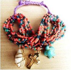 Pulsera, Mali Beaded Necklace, Jewelry, Fashion, Stud Earrings, Creativity, Accessories, Beaded Collar, Moda, Jewlery