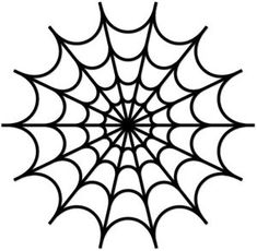 spiderweb stencil - Google Search