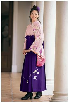 Japan - Hakama - tied around waist, seven pleats, can be divided like trousers