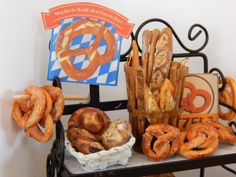 Handmade Soft German Pretzels Miniature 1:12 by JansPetitPantry