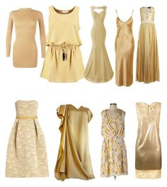 """Soft Autumn Yellows"" by carlie-ann on Polyvore featuring Boohoo, Topshop, Mary Katrantzou, STELLA McCARTNEY, Alice + Olivia and White House Black Market"