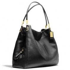 Coach Madison Phoebe leather shoulder bag