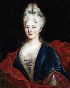 French School: Portrait of a Lady, early 18th century.
