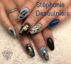Stéphanie 514-653-8186 Technique résine et poudre Mascouche Nail Artist, Sd, Nails, Face Powder, Finger Nails, Ongles, Nail, Sns Nails