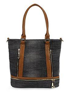 Scarleton Denim Tote Bag