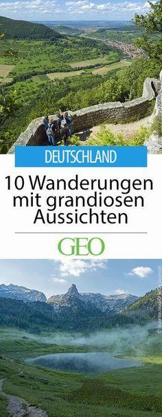 Wander: Tipps für schöne Wanderungen in Deutschland. Tolle Aussichten garantiert!