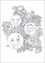 Ausmalbilder Emojis Emoticons10 Images Diverses Coloring Pages