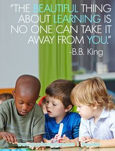 How are you helping children discover their love of learning early on? http://buff.ly/1y1xQaq #PreschoolMatters #quotes