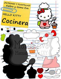 Plantillas Personajes Clásicos Hello Kitty