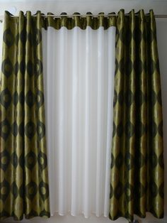 Adamaszek - dekoracje okien, firany, zasłony, rolety rzymskie, galeria zdjęć, projekty Curtains, Home Decor, Insulated Curtains, Homemade Home Decor, Blinds, Draping, Decoration Home, Drapes Curtains, Sheet Curtains
