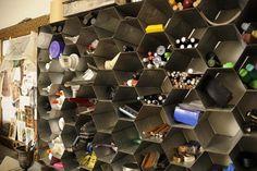 unusual artist studios | Inspiration: Organizing Your Art + Homework Supplies | Apartment ...