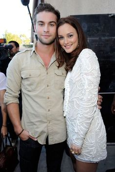 Chace Crawford & Leighton Meester