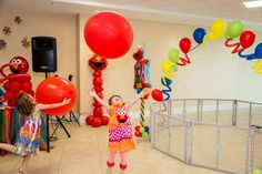 Sesame Street and Elmo Birthday Party Ideas | Photo 1 of 36 | Catch My Party