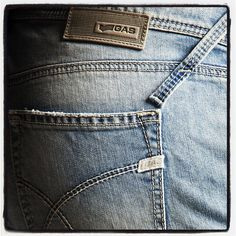 Jeans pocket and GAS logo - our signature