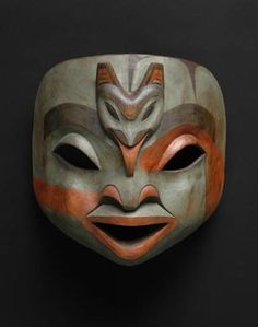 Artist and Tribe Unknown, Native American Shaman Mask.