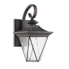Accented with classical design features, this wall sconce makes a beautiful addition to exterior decor. This lamp is solid, waterproof, and sure to last.