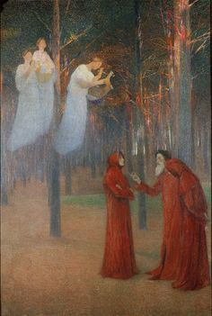 The Poets in the Sacred Wood - Henri Martin