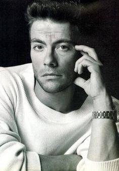 Jean Claude van Damme struggled to gain his acting career. He slept and starved on the streets of LA.