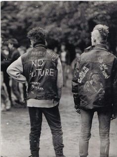 // 1- I like the R guys hair. 2- the L guys vest is depressing it makes me wanna prove the that I do have a future.