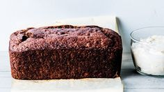 Buckwheat Banana Cake with Yogurt-Espresso Frosting Recipe | Bon Appetit
