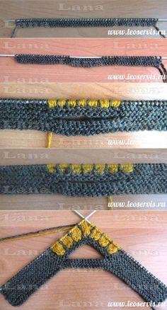 trendy knitting gloves tutorial patterns - Her Crochet Knitted Slippers, Crochet Slippers, Knitted Gloves, Knitting Socks, Knitting Needles, Baby Knitting Patterns, Crochet Patterns, Homemade Shoes, Crochet Baby
