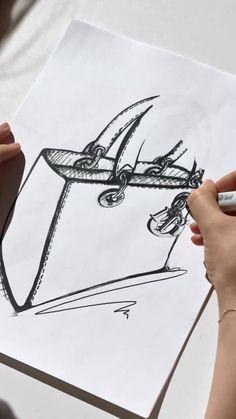 Fashion Design Sketchbook, Fashion Sketches, Fashion Line, Fashion Brand, Kylie Jenner Icons, Christian Dior, Accesorios Casual, Fashion Figures, Canvas Designs