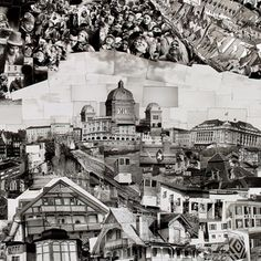 """'The photographer Sohei Nishino spends months on a single work. That's because it's never just 1 photograph. On the contrary, it's tens of thousands of photographs – contact sheets, to be exact – that he's taken walking up and down every nook and cranny of the city. They're what he calls """"Diorama Maps"""" and they're """"not a precise google map, but presents the key elements of the city in a form closer to my own memory and observation."""""""