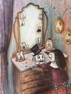 Barbara Cantini - Mortina: een verhaal om je dood te lachen - Ik vind lezen leuk Dood, Horror, Painting, Art, Art Background, Painting Art, Kunst, Paintings, Performing Arts