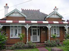 Haberfield door, Sydney, NSW in Federation style