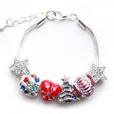 Children will just love this silver-plated and metal charm bracelet on extendable chain. The perfect Christmas present! The charms are designed to stay on the bracelet and are not removable, so safe. 1st Christmas, Christmas Baubles, Christmas Themes, Christmas Gifts, Kids Charm Bracelet, Kids Bracelets, And So It Begins, Last Minute Gifts, Gift Guide