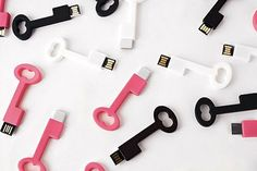 Gift your guests these quirky USB drives.