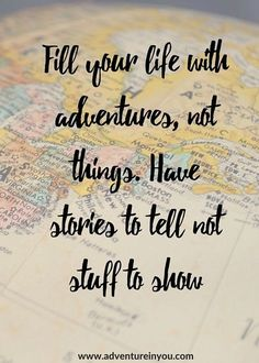Collect beautiful and meaningful things on your adventures, and you can have both. Plus a wonderful, tangible reminder.
