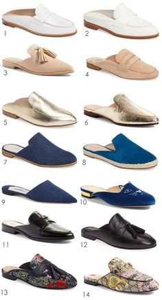 Backless Loafers are Trending Espadrilles, Espadrille Shoes, Loafer Shoes, Shoes Heels, Mules Shoes Flat, Mule Sandals, Backless Loafers, Fashion Terms, Jelly Shoes