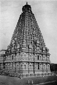 Brihadeeswara Temple, Thanjavur, Tamil Nadu, India, 11th Century...
