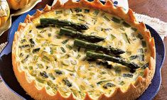 Quiches, Vegetarian Recipes, Breakfast, Health, Pie, Asparagus Tart, Asparagus Quiche, Spinach Quiche, Cake Roll Recipes