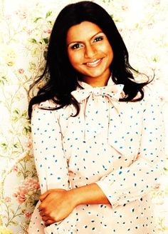 """""""Until I was 30, I dated only boys. I'll tell you  why: Men scared the sh*t out of me. Men know what they want...""""    (Glorious advice from Mindy Kaling - click through to read the whole thing!"""