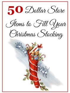 50 Dollar Store Items to Fill Your Christmas Stocking
